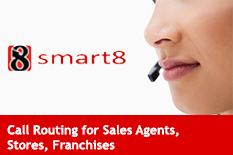 Call Routing for Sales Agents Stores Franchises