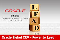 Oracle Siebel CRM - Power to Lead